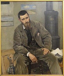 Portrait of the Painter Nils Kreuger by Richard Bergh - Statens Museum for Kunst - DSC08278