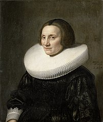 Portrait of Caecilia van Beresteyn (1589-1661)
