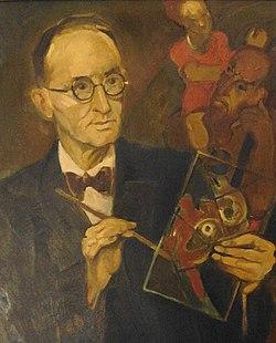 Portret van Gerard Mesterom (1939) door Henri Jonas.jpg