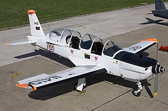 101 Squadron (Portugal) - Image: Portuguese Air Force Socata TB 30 Epsilon