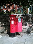 Post box at Sandringham Drive, Liverpool 17.jpg