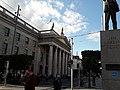 Poste central de Dublin (General Post Office), façade principale 2.jpg