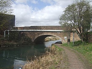 Bradley, West Midlands - Image: Pot House Bridge Bradley Arm Canal geograph.org.uk 1234654