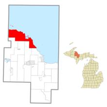Powell Township, Michigan Civil township in Michigan, United States