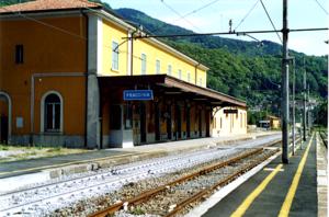 Porrettana railway - Pracchia station