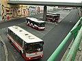 Praha, Černý Most, autobusy MHD.jpg