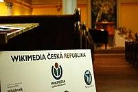 Praha, Vinohrady, Koncert 10 let Wikipedie 2.jpg