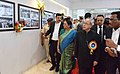 Pranab Mukherjee visiting after inaugurating the Amul's State-of-the-art Feed Manufacturing Plant, at Kapadwanj Tuluka, Kheda in Gujarat. The Chief Minister of Gujarat, Smt. Anandiben Patel is also seen.jpg