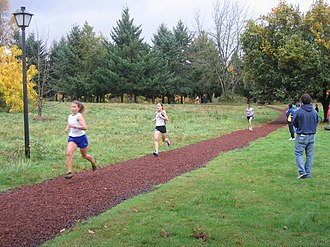 Pre's Trail - Pre's Trail during a cross country race in 2005