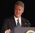 President Clinton at a Dinner Honoring Rep. John Lewis (2000) 00.jpg
