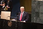 President Donald J. Trump at the United Nations General Assembly (44861959822).jpg
