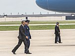President Obama departs for Sooner State aboard Air Force One 150715-F-WU507-144.jpg