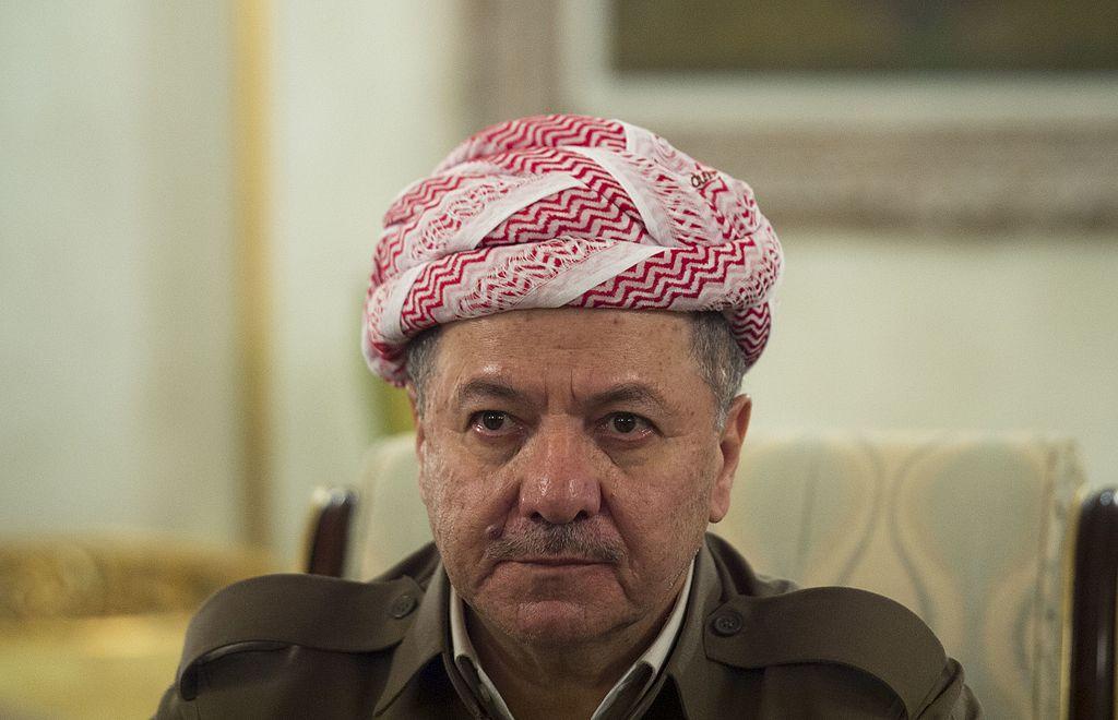 President of Iraqi Kurdistan Masoud Barzani