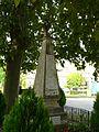 Pressignac (24) monument aux morts.JPG