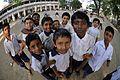 Primary School Students - Ramakrishna Mission Ashrama - Sargachi - Murshidabad 2014-11-11 8827.JPG