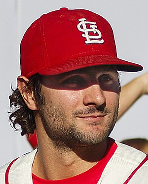 Pete Kozma - Kozma with the St. Louis Cardinals