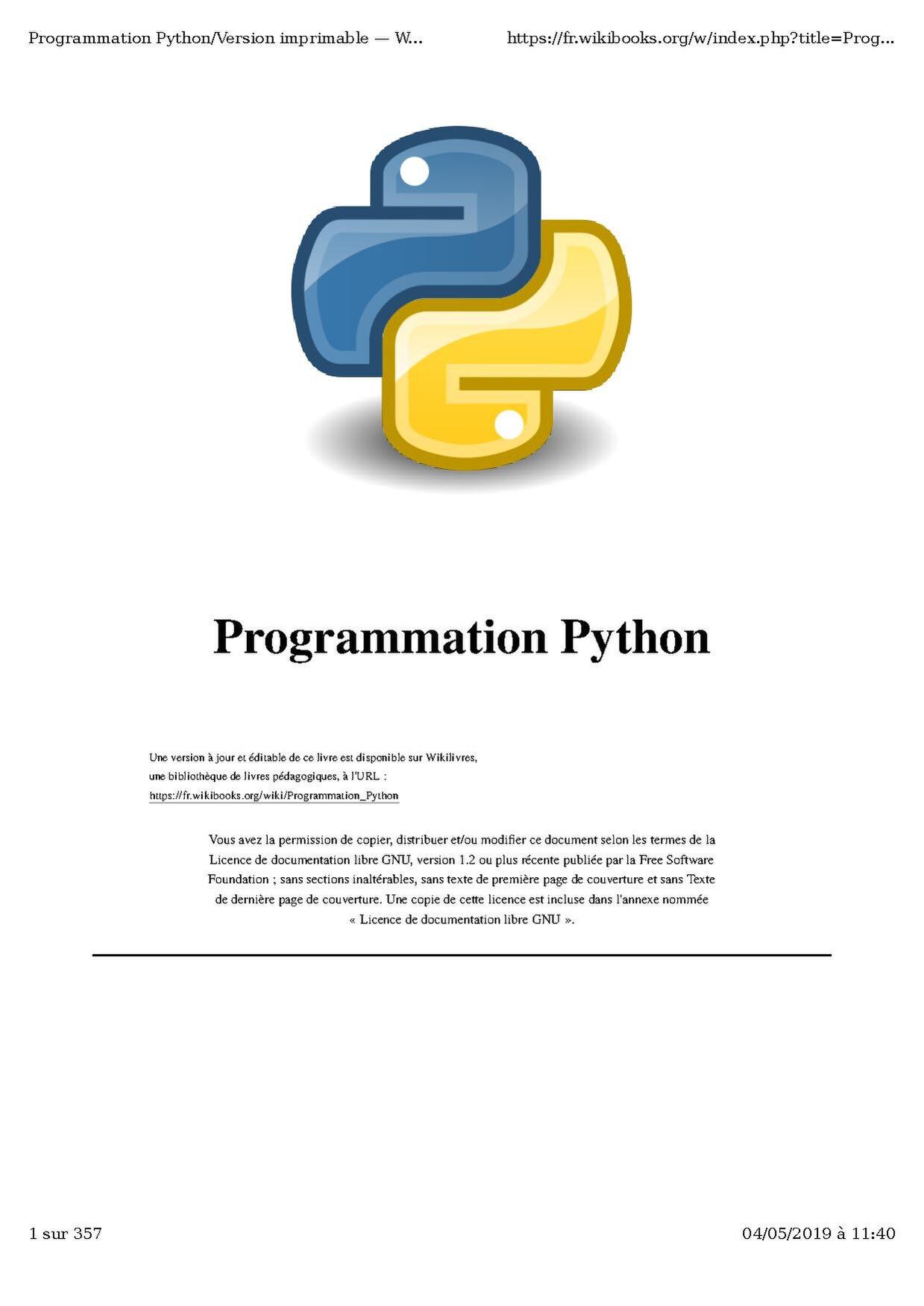 Text to pdf python