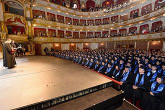 University of Zagreb - Promotion of new PhDs in 2015