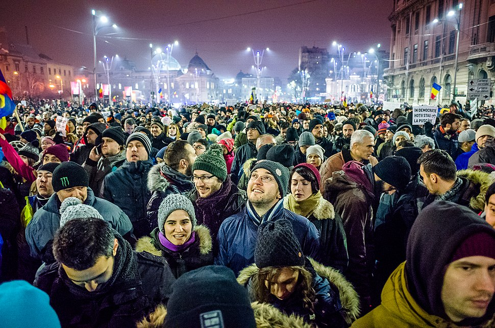 Protest against corruption - Bucharest 2017 - Piata Universitatii - 4