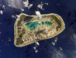 Puka-Puka - NASA picture of Puka-Puka Atoll