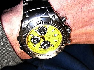 Pulsar (watch) - Pulsar quartz chronograph