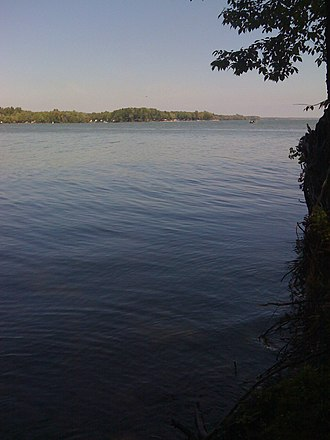 Pymatuning State Park (Pennsylvania) - Looking to the Ohio shore
