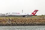 QantasLink (VH-YQX) Boeing 717-2K9 departing Sydney Airport.jpg