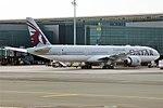 Qatar Airways, A7-BEU, Boeing 777-3DZ ER (46710146165).jpg