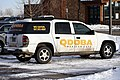 Qdoba Mexican Eats branded Chevrolet TrailBlazer LS first generation in Gillette, Wyoming.jpg
