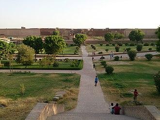 Qila Mubarak - Image: Qila Mubarak inside