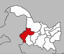 location of Qiqihar within Heilongjiang