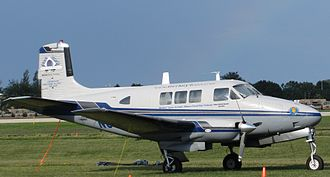 Beechcraft Queen Air - Queen Air 65 Excalibur conversion prior to round-the-world attempt