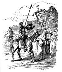Ilustración de Don Quijote de 1848