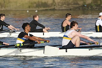 Queen Mary University of London Boat Club - Image: Quinten Head 2016