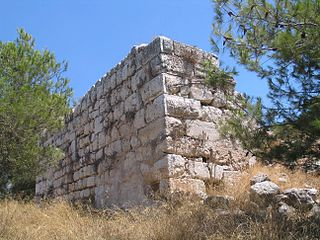 Qula castle ruin