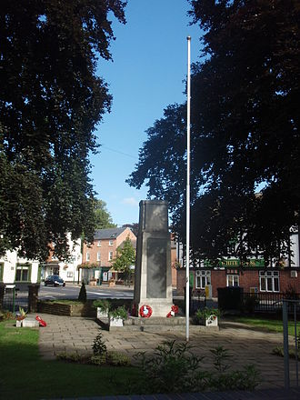 Quorn, Leicestershire - War memorial by Quorn Cross