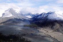 Nunavut(Canada). Tipica valle glaciale.