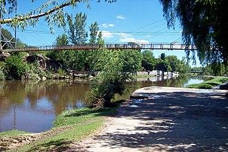 Mina Clavero - The final course of the Mina Clavero river.