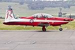 RAAF (A23-037) Pilatus PC-9A taxiing at Wagga Wagga Airport.jpg