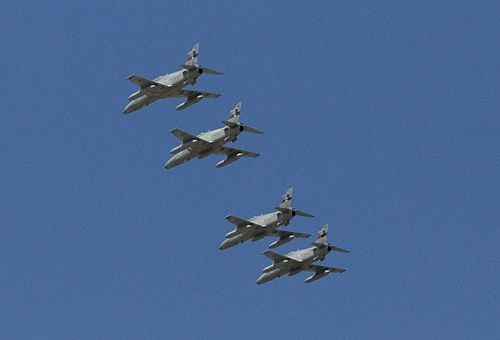 79 Squadron Hawks In Formation Near RAAF Base Pearce November 2008