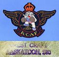 RCAF 135 F Sqdn, Bulldog double wing patch & Crest Craft back-stamp.jpg