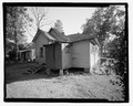 REAR VIEW LOOKING SOUTH - 930 Oak Street (House), Waycross, Ware County, GA HABS GA-2224-6.tif