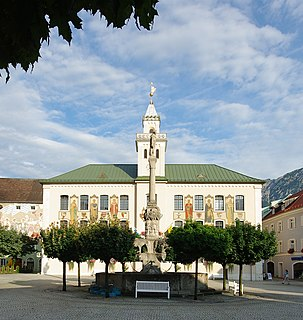 Bad Reichenhall Place in Bavaria, Germany