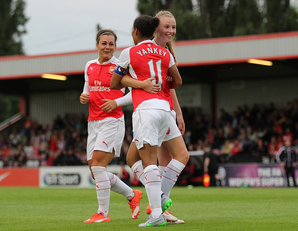 File:Rachel Yankey Leah WIlliamson Jemma Rose Arsenal ...