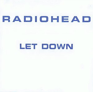 """Image of CD with """"Radiohead"""" printed at the top and further text below"""