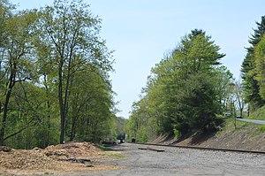 Bell Township, Jefferson County, Pennsylvania - Rail line southeast of Punxsutawney