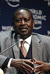Raila Amolo Odinga - World Economic Forum on Africa 2008.jpg