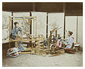Raimund von Stillfried-Rathenitz - Two Women Weaving Silk on Looms.jpg
