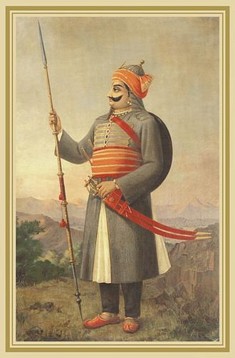 Rajasthani people - Maharana Pratap, a ruler and great warrior of his time.