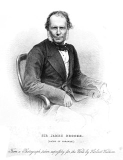 James Brooke White Rajah of Sarawak